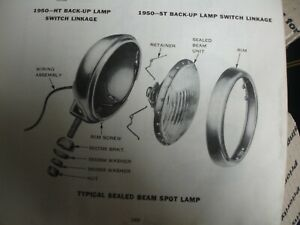 1949 1950 Oldsmobile Clear Fog Lights Pair With Nos Switch 418792 Guide 2025 A