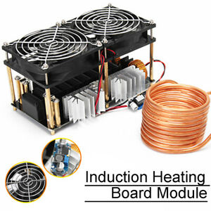 1800w Zvs Induction Heating Board Module 1800w Flyback Driver Heater With Coil