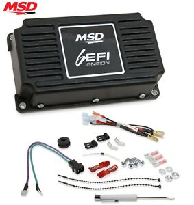 Msd 6415 6efi Digital Ignition Control Box Black 95 Mj Sbc Bbc Sbf Chevy Ford