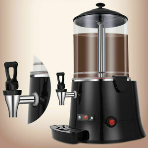 10l Hot Chocolate Machine Electric Dispenser Bain Marie Mixer Wine 220v 110v