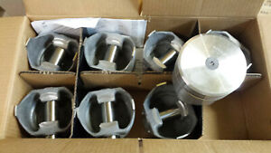 318 Dodge Chrysler Forged Pistons L2406f Standard Bore Obsolete Set Of 8