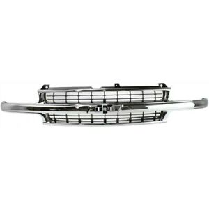 Grille For Chevy Suburban Gm1200442 88968934 Chevrolet Silverado 1500 Truck 2500