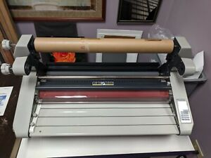 25 Wide Format Roll Laminator Excelam 655r Nearly New