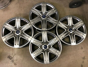 10172 Set Of 20 Inch Ford F 150 Expedition Fx 4 Oem 2018 2019 Rims Wheels Gray