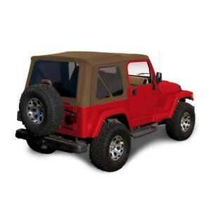 1997 2006 Jeep Wrangler Tj Soft Top Replacement Tinted Windows Spice Sailcloth
