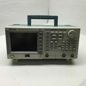 Tektronix Afg 3021 Single Channel Arbitrary function Generator 250ms s 25mhz