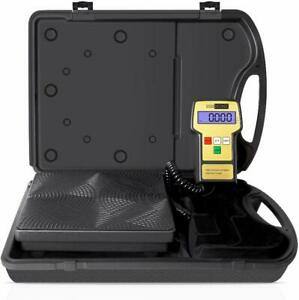 Precision Electronic Digital Refrigerant Charging Weight Scale For Hvac 220lb
