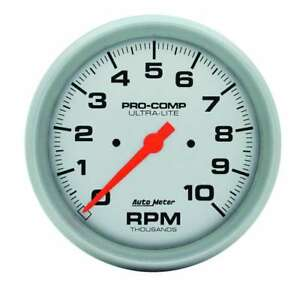 Auto Meter 4498 Gauge Tachometer 5 10 000 Rpm In dash Ultra lite