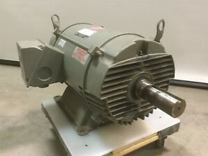 Us E661a Electric Ac Motor 30hp 230 460vac 3 286t 1755 Rpm 1 7 8 Shaft tested