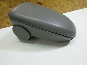 00 07 Ford Focus Center Console Armrest Arm Rest Compartment Grey Oem