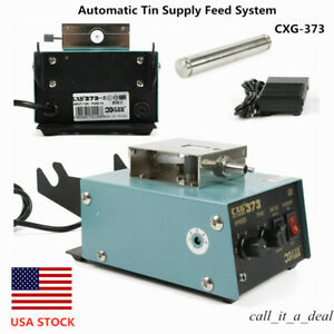 Automatic Tin Wire Supply Feed System Feeder Lead free Welding Soldering Machine