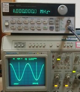 Hp Agilent 33120a 15 Mhz Function Arbitrary Waveform Generator Recent Cal