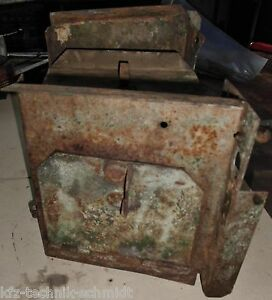 Toolbox tank Mount From Deutz F2l 514 53 Vintage Tractor