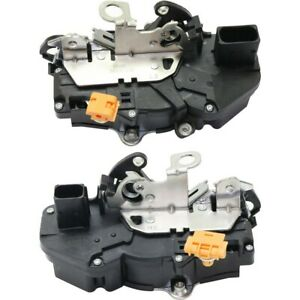 Set Of 2 Door Lock Actuators Front Left And Right For Chevy Suburban Gmc Pair
