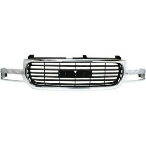 Grille For Yukon Gmc Sierra 1500 Truck Xl 2500 Hd Heavy Duty Gm1200430 19130787