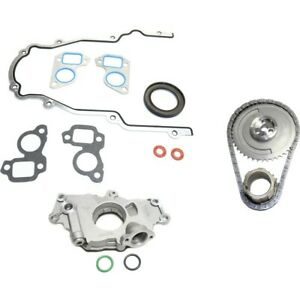 Oil Pump Timing Chain Kit Timing Cover Gasket For 2000 2006 Chevrolet Tahoe Kit