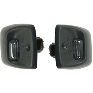 Pair Set Of 2 License Plate Lights Lamps Rear Left and right Lh Rh For Tacoma