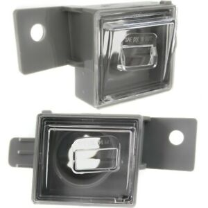 License Plate Lights Lamps Set Of 2 Rear Left and right For Chevy Lh