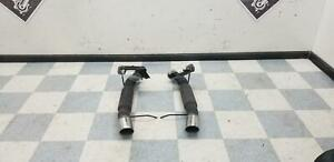 2013 2014 Mustang Gt Aftermarket Flowmaster Left Right Rear Exhaust Mufflers
