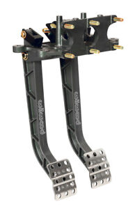 Wilwood Rear Reverse Swing Mount Brake And Clutch Pedal Triple Master Cylinder