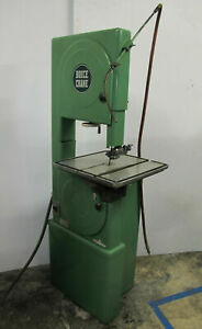 Boice Crane Vertical Band Saw 4709 Made In Usa 3 Phase
