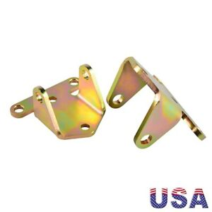For Chevy 350 400 Sbc Small Block Solid Steel Frame Engine Motor Mounts Bracket