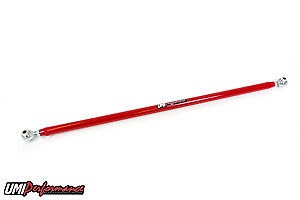 Umi Performance 2005 2014 Ford Mustang Double Adjustable Pan Hard Bar Red
