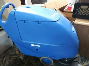 pefectly Used Clarke Focus Boost 2 Floor Scrubber
