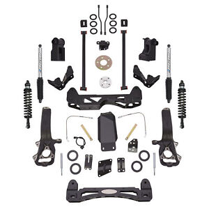 Pro Comp Block Kit 6 In Front Rear Fits 2012 2017 Ram 1500 Expk2084bpx
