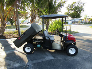 Toro Workman Md Gas Electric Dump Body 07266 Sun Roof 468 Hrs