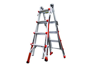 Little Giant Ladder Systems 12017 801 Revolution M17 With Ratcheting Levelers