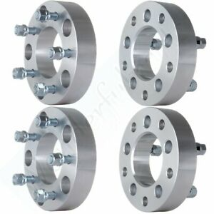 4pc 1 5 Thick Adapters 5x5 5 To 5x5 Wheel Spacers For 1966 1996 Ford Bronco