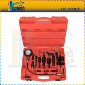 Diesel Engine Compression Tester Test Set Kit For Auto Tractor With Case