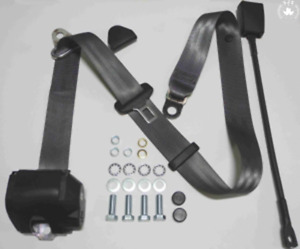 Three Point Automatic Seat Belts Mg Mga Mgb Td And Others 45cm Grey