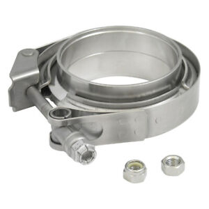 Verocious Motorsports 304 Stainless Steel V band Clamp Kit 3 5