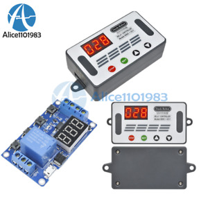 Ddc 431 5v 12v Led Automation Delay Timer Controller Switch Relay Module Display