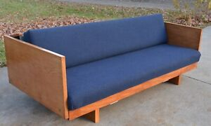 Hans Wegner For Getama Daybed Sofa Pull Out Full Size Double Day Bed Vtg Mcm