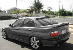 For 92 98 Bmw E36 318 325 M3 2dr Vip Carbon Fiber Rear Roof Window Spoiler Wing