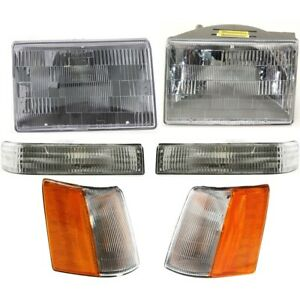 Auto Light Kit Left And Right Lh Rh For Jeep Grand Cherokee 1993 1996