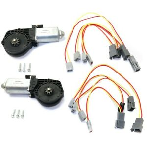 Set Of 2 Window Motors Front Or Rear Left And Right For Bronco Country Pair