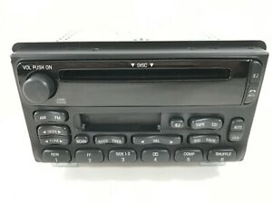 2001 2004 Ford Mustang Explorer Am Fm Radio Cd Cassette Player 1l2f 18c868 bb