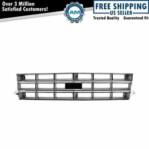 Chrome Silver Front Grille Assembly W Provision For Chevy S10 Blazer New