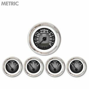 5 Ga Set Metric Pulsar Grey Black Mod Nedl Chrome Trm Rings Style Kit Diy