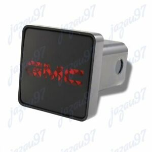 Bully Hitch Cover For Gmc 2 Rear Led Trailer Towing Receiver With Brake Lights