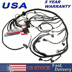 1997 2006 Dbc Ls1 Standalone Wiring Harness T56 Or Non electric Tran 4 8 5 3 6 0