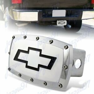 Hitch Cover Plug Cap 2 Trailer Receiver W Allen Bolts For Chevrolet Chevy
