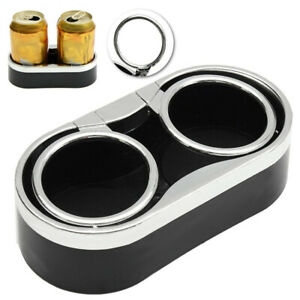 Universal Car Truck Adhesive Mount Cup Drink Holder Organzier Storage Box Usa