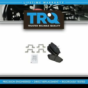 Trq Rear Posi Ceramic Disc Brake Pads For Ford Mustang New