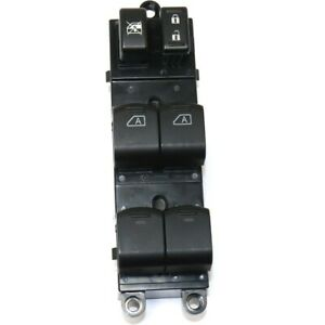 Power Window Switch Black Front Left Hand Side Driver Lh For Nissan Titan Armada
