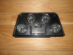 Triumph Tr4 Complete Instrument Gauge Panel Oem For 1963 To Early 1964 Tr4 Nla